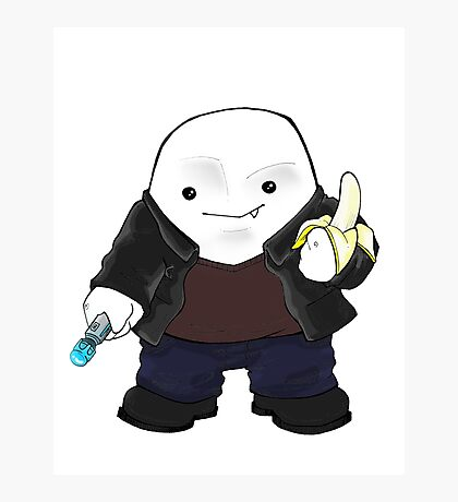 Adipose as the 9th Doctor Photographic Print