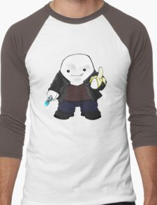 Adipose as the 9th Doctor Men's Baseball ¾ T-Shirt