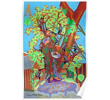 Apogee of An Apricot Tree Poster