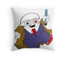 Adipose as the 10th Doctor Throw Pillow