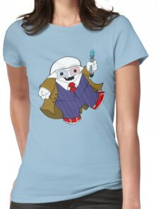 Adipose as the 10th Doctor Womens Fitted T-Shirt