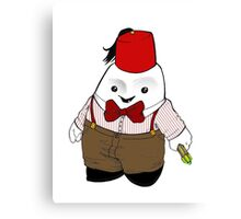 Adipose as the 11th Doctor Canvas Print