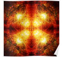 Cosmic Sacral Chakra Poster
