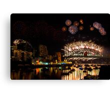 New Years 09-10 2 Canvas Print
