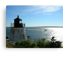 Lighthouse in Rhode Island Canvas Print