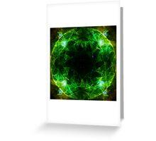 Cosmic Heart Chakra Greeting Card