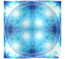 Cosmic Throat Chakra Poster
