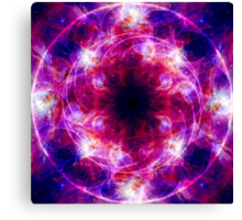 Cosmic Crown Chakra Canvas Print