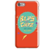Blips and Chitz - Rick and Morty iPhone Case/Skin