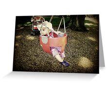 Little Swinger Greeting Card