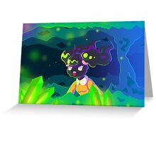 Spelunking Greeting Card