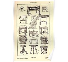 A Handbook Of Ornament With Three Hundred Plates Franz Sales Meyer 1896 0449 Furniture Stool Poster