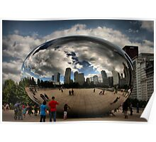 Skyline Bubble Poster