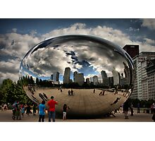 Skyline Bubble Photographic Print