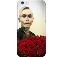 Skull Tux And Roses iPhone Case/Skin