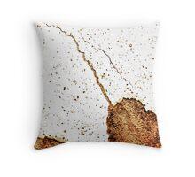 Wall-Paint-Crack Throw Pillow