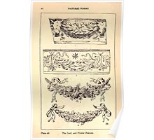 A Handbook Of Ornament With Three Hundred Plates Franz Sales Meyer 1896 0078 Natural Forms Leave Flower Festoon Poster