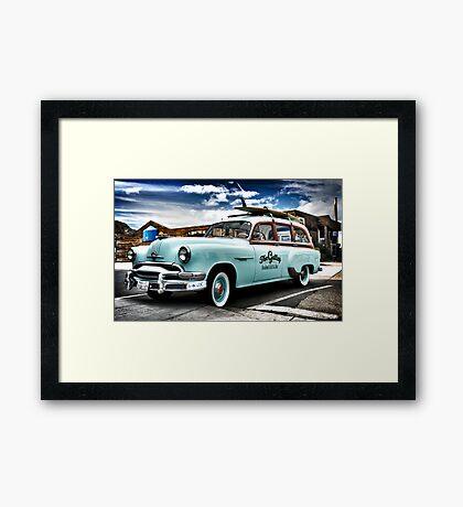 The Galley Cruiser Framed Print