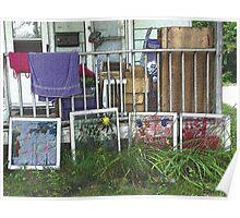 Artistic Clutter Poster