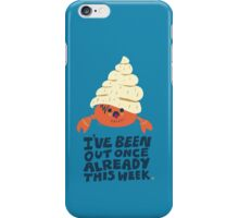 Hermit Crab iPhone Case/Skin