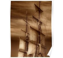 Tall Masts Poster