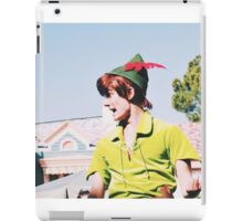 Peter Pan On Soundsational Parade  iPad Case/Skin