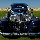 1937 Mercedes-Benz 540K Cabriolet A by Timothy Meissen