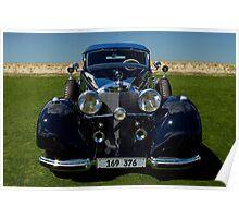1937 Mercedes-Benz 540K Cabriolet A Poster