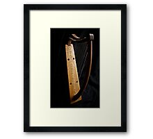 Ready for playing? Framed Print