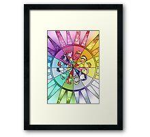 Rainbow Of Friendship Framed Print