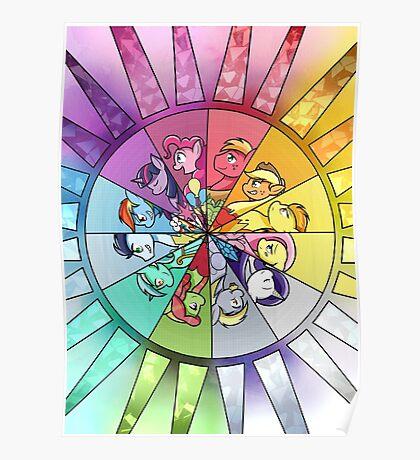 Rainbow Of Friendship Poster