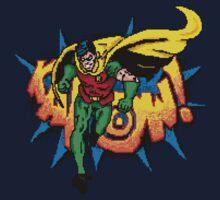 Pixel Retro Robin T-Shirt