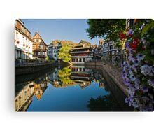 Strasbourg Reflections Canvas Print