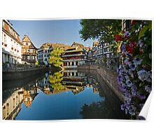 Strasbourg Reflections Poster