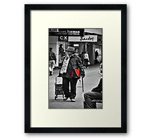 Now if I could just find some tricky red shoes....... Framed Print