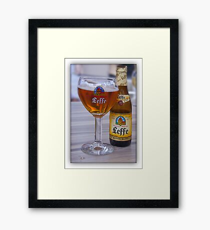 A weekend to Flanders Framed Print