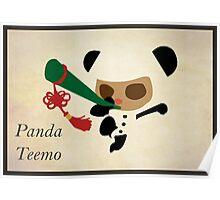 Panda Teemo Poster