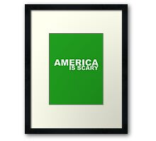You're the Worst – America Is Scary Framed Print