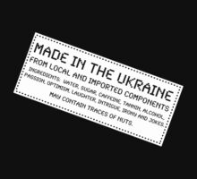 Traces Of Nuts - Ukraine, Funny by Ron Marton