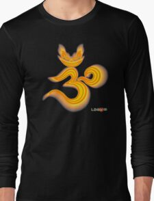 Lucky's Golden Ommmblem Long Sleeve T-Shirt