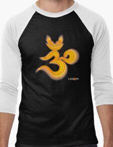 Lucky's Golden Ommmblem Men's Baseball ¾ T-Shirt