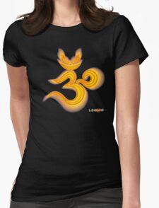 Lucky's Golden Ommmblem Womens Fitted T-Shirt