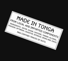 Traces Of Nuts - Tonga, Funny by Ron Marton