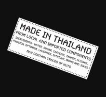 Traces Of Nuts - Thailand, Funny by Ron Marton
