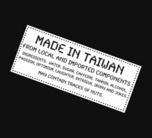 Traces Of Nuts - Taiwan, Funny by Ron Marton