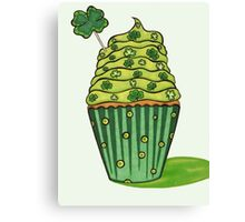 Cupcake and Clovers, Art by Lindsay Carpenter Canvas Print