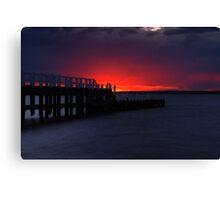 Pioneer Bay Display Canvas Print