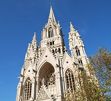 Cathedral in Belgium Architectural beauty by Poojan