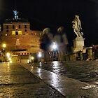 Ponte Sant'Angelo by hans p olsen