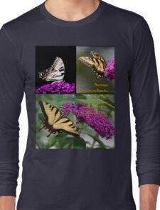God Changes Caterpillars Into Butterflies Long Sleeve T-Shirt